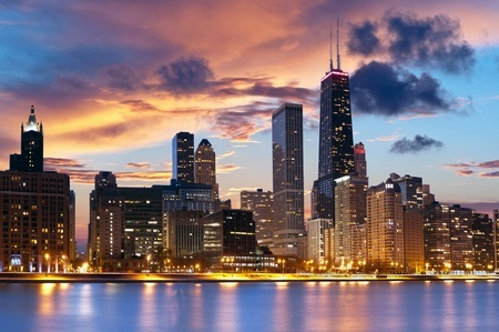 Chicago IL Skyline