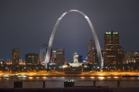 St. Louis MO Skyline